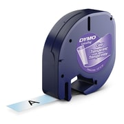 DYMO®  16952 Self-Adhesive Label Tape is great for LetraTag Labelers, Clear