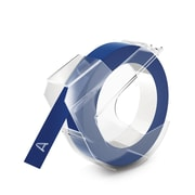 """Embosser Tape, Blue, 3/8"""""""
