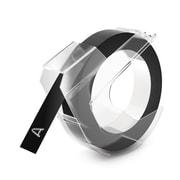 """Dymo 520109 3/8"""" Embosser Tape Black"""