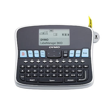 DYMO® LabelManager 360D Handheld Label Maker