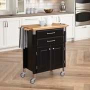 "Home Styles 36"" Wood Dolly Madison Prep And Serve Cart"