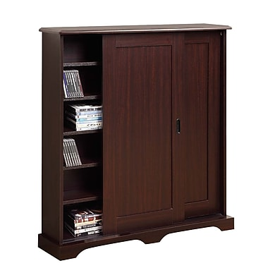 4D Concepts Entertainment Sliding Door Multimedia Cabinet