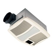 Broan Ultra Silent 110 CFM Exhaust Bathroom Fan with Heater and Light