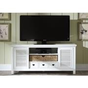 Liberty Furniture Summerhill II TV Stand; Linen
