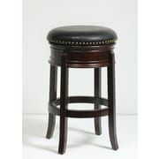 Boraam Hamilton 29'' Swivel Bar Stool with Cushion; Cappuccino