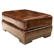 Elements Fine Home Furnishings Emerson Leather Ottoman