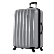 Olympia Titan 25'' Hardsided Spinner Suitcase; Silver