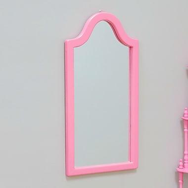 Mega Home Wall Mirror; Pink