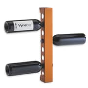 Vynebar 8 Bottle Wall Mounted Wine Rack; Matte Orange