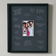 nexxt Design Urban Expressions Signature Picture Frame; Black