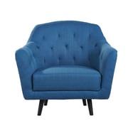 Gold Sparrow Aurora Arm Chair; Blue