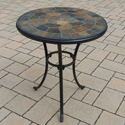 Oakland Living Stone Art Bistro Table