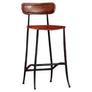 William Sheppee Pud 26'' Bar Stool; Brown