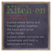Stratton Home Decor ''Kitchen'' Textual Art