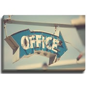 Bashian Home Office by Bomobob Photographic Print on Canvas; 24'' H x 30'' W x 2'' D