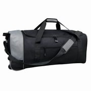 Travelers Club 32'' 2 Wheeled Duffel; Black