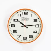 Control Brand Bedford 13.75'' Wall Clock; Peach