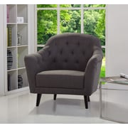 Gold Sparrow Aurora Arm Chair; Gray