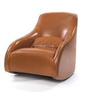 Hip Vintage Baseball Glove Leather Arm Chair