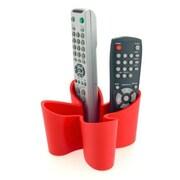 j-me Original Design Cozy Remote Control Caddy; Red