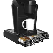 Mind Reader Anchor Triple Drawer Coffee Pod Holder, 36 Capacity, Black (TRAY6-BLKP)