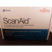 Fujitsu CG01000-280401 ScanAid Cleaning and Consumable Kit For FI-7X60 and FI-7X80 Series
