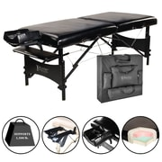 "Master Massage Portable Massage Table, 30"", Black (20243)"
