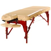 "Master Massage Portable Massage Table, 30"", Cream Luster (21003)"