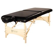"Master Massage Portable Massage & Exercise Table, 30"", Black Luster (21005)"