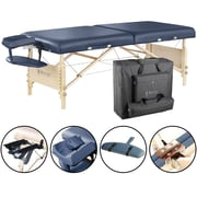 "Master Massage Portable Massage Table, 30"" Royal Blue (28229)"