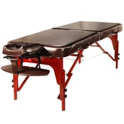 "Master Massage Portable Massage Table, 30"", Chocolate Luster (66206)"