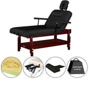"Master Massage Stationary Massage Table, 31"", Black (67245)"
