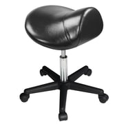 Master Massage Ergonomic Saddle Stool, Sleek Black (91557)