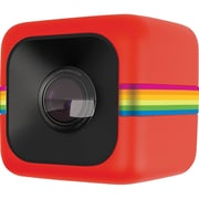 Polaroid Cube POLC3 3.4 mm 6MP Sports Lifestyle Action Video Cameras, Red