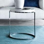 Pianca USA Servogiro End Table; White High Gloss