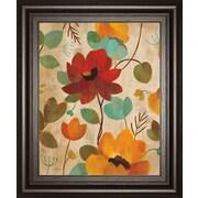 ClassyArtWholesalers Vibrant Embroidery II by Silvia Vassileva Framed Painting Print