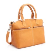 Royce Leather Lightweight Duffel Bag, Colombian Leather, Tan (636-TAN-VL)