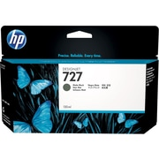 HP 727 Ink Cartridge Matte, Inkjet, Standard Yield, Matte Black, (B3P22A)