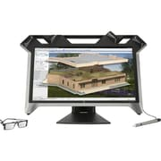 "HP K5H59A8#ABA Zvr 23.6"" 1080p Full HD LED-Backlit LCD Monitor, Black"