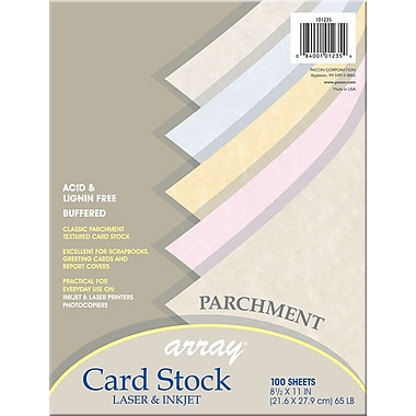 Array Card Stock, 2/3