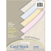 "Array Card Stock, 2/3""(W) x 3 7/16""(L), 100/Pack"