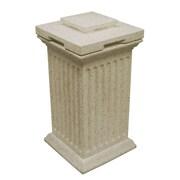 Good Ideas Savannah 30-Gal Column Bin; Sandstone