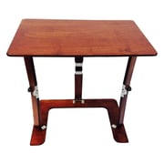 Spiderlegs Portable Folding Couch Tray Table; Mahogany