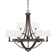 Capital Lighting Chastain 9 Light Chandelier