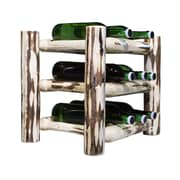 Montana Woodworks  9 Bottle Countertop Wine Rack; Lacquered