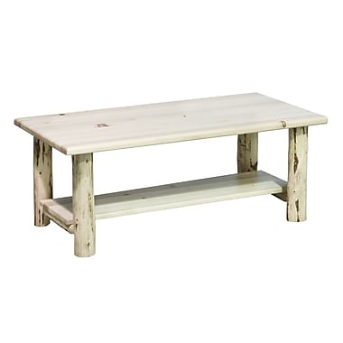 Montana Woodworks Montana Coffee Table w/ Shelf; Lacquered