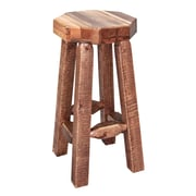 Montana Woodworks  Homestead 30'' Bar Stool; Stained and Lacquered