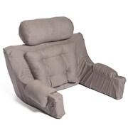 Hermell Softeze Deluxe Lounger Backrest; Dove Grey