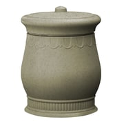 Good Ideas Savannah 30-Gal Urn Storage and Waste Bin; Sandstone