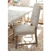 Kosas Home Ericka Tufted Side Chair in Camel